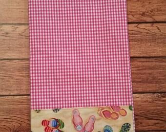 Beach Flip Flops Kitchen Towel - Limited Quantities