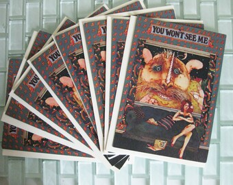 Beatlegraphics You Wont See Me- Lennon McCartney Card 1965
