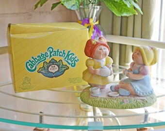 Cabbage Patch Figurines - Tea For Two