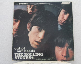 "The Rolling Stones- ""Out Of Our Heads"" vinyl record (NT)"
