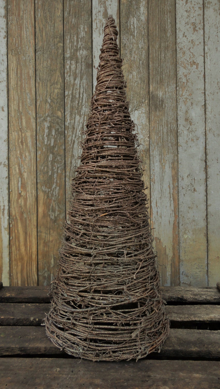 Rustic Christmas Decor--Grapevine Tree--Glitter Grapevine Tree ...