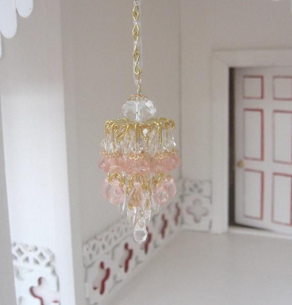 Dollhouse Light Chandelier Light 1:12 Scale By