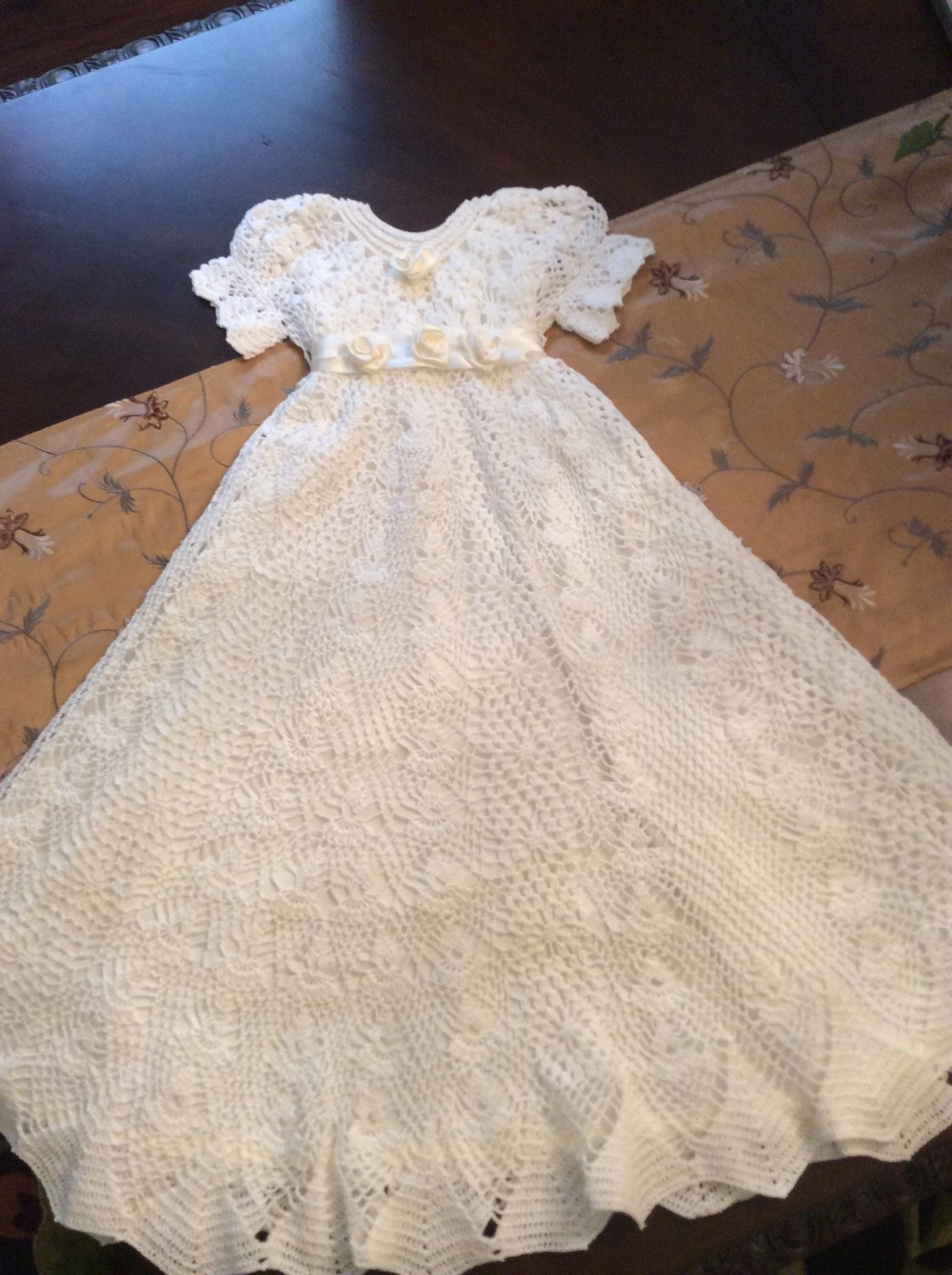5 Crochet Patterns At A Discount Baptism Gown Blessing Gown