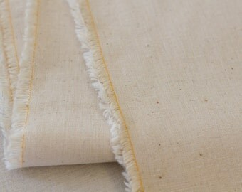 Unbleached Hemp/Organic Cotton Fabric - 50cm x 145cm (half metre)