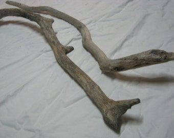 Driftwood Pieces - 2 Unique Driftwood Pieces - Craft Supplies - Nice!