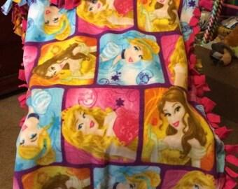 Princess Cinderella, Aurora and Belle blanket