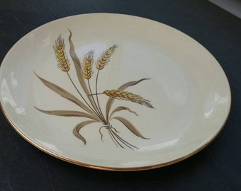 On Sale Cunningham and Pickett Wheat Spray 10 inch Dinner Plate Replacement Dish