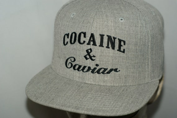 COCAINE CAVIAR Hat Flat Bill SNAPBACK Crooks Shirt Castles and Black Hoodie Cap