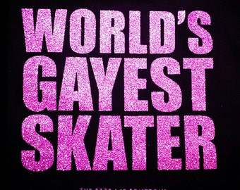 World's Gayest Skater, Roller Derby T-Shirt
