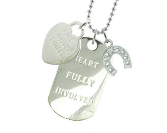 Firefighter Girlfriend Dog HS - (Free Shipping)