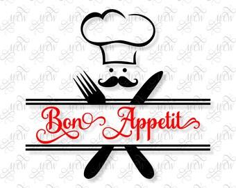 Bon Appetit Chef SVG