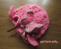 baby hat pattern, baby hats for girls, baby hat crochet, crochet baby hat, hat pattern, beanie pattern, girl hat pattern newborn hat pattern