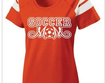 Short Sleeve Soccer Mom T-Shirt
