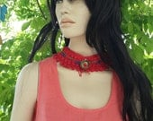 Handmade Braided Rope Necklace