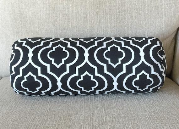 Items similar to Decorative pillow, neck pillow, Moroccan, home & living, home decor, bolster ...