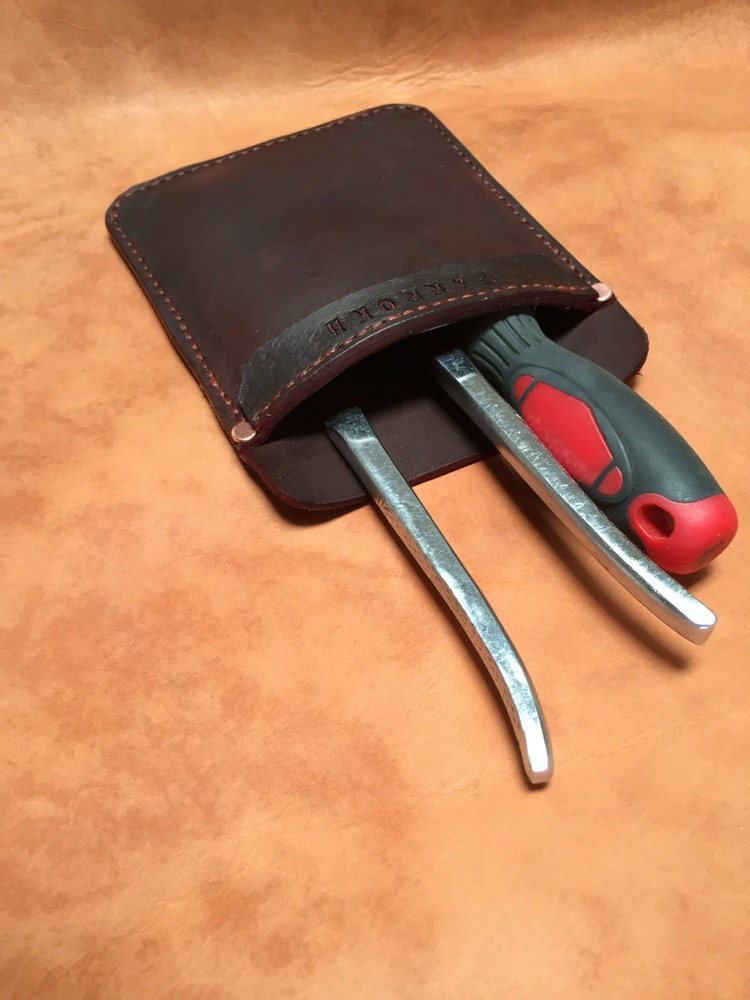 Customize Your Leather Pocket Protector For Pants Lab By