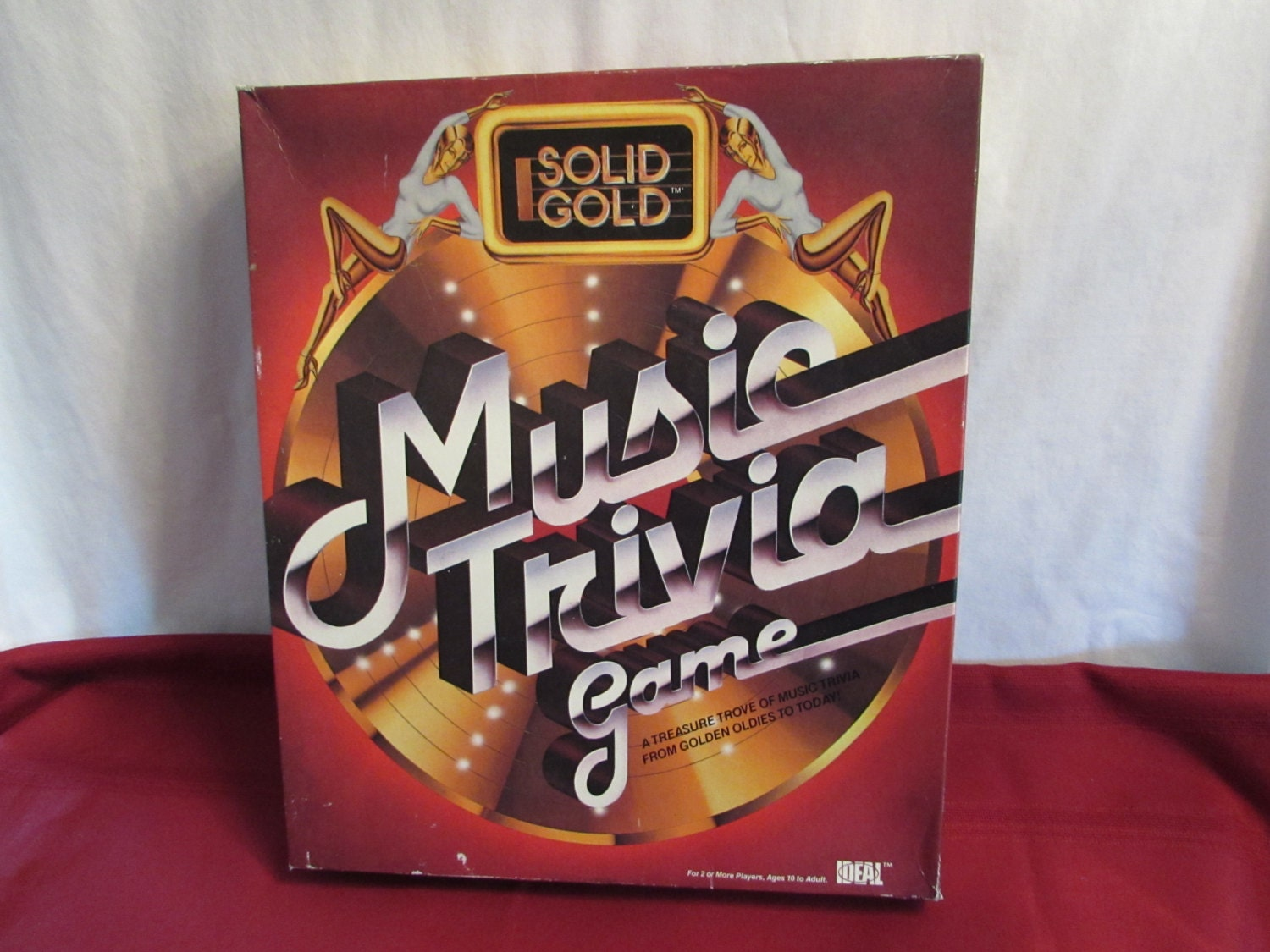 SOLID GOLD MUSIC Trivia Game 1984 Party Game