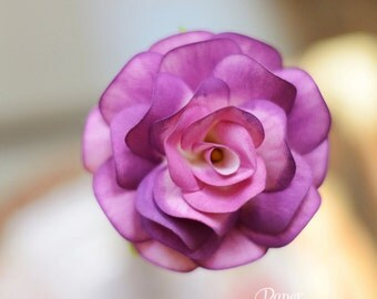 Lilac Rose with flower stem