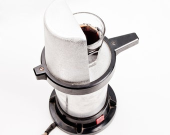 Rare Espresso Maker made from USSR. Ready for use! Soviet metal design! For Coffee Lovers! Electric moka pot