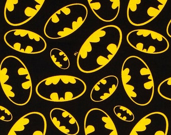 Batman 'Bat Signal' ~Custom Made~ Fitted Crib/Toddler Sheets and Pillow Cases