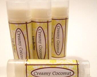Creamy Coconut Lip Butter Lip Balm