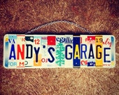 Christmas. Dad. For him. Garage. Beer. Sign. Name. Personalized. Giftidea. Mancave. Car. Truck. Chevy. Ford. Men.