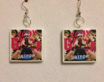 Lady Gaga 'Artpop' Album Earrings