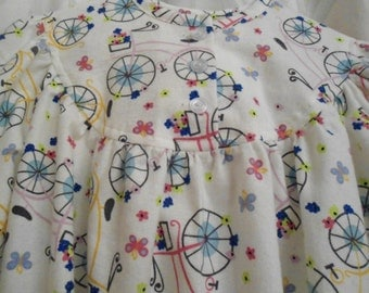 Size 6 Girls Bycle Pajamas