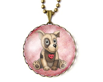Cuddly toy necklace