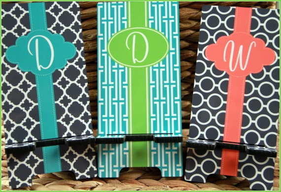 Gift Ideas For Friends Gifts for Coworkers Cell Phone Stand Monogrammed Gift Personalized Co-Worker Boss Gift Desk Accessories Charger Stand