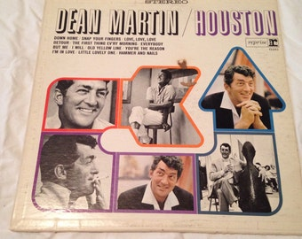 Dean Martin Houston Record LP vintage