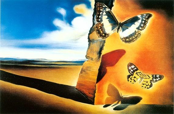 Surrealist Landscape Paintings Dali Surrealist Painting