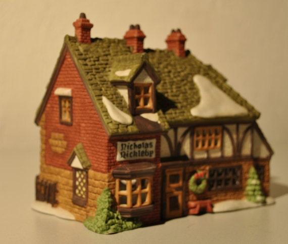 Dept 56 Dickens Village Nicholas Nickleby By Backporchventures