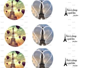 Paris Bottle Cap Images