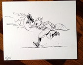 Star Fox - Ink Illustration