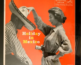 """Framed """"Holiday in Mexico"""" LP"""