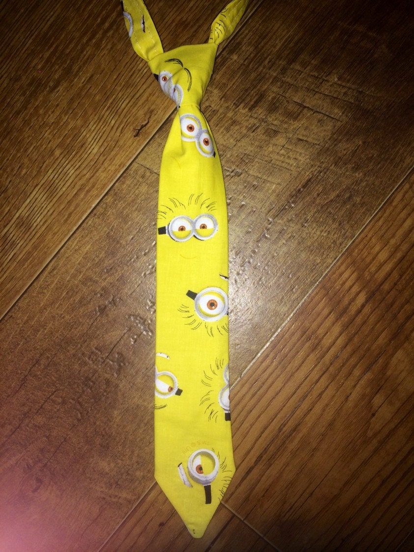minions despicable me boys tie great for by
