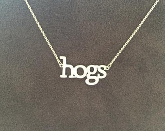 Hogs Necklace by Gameday Runway