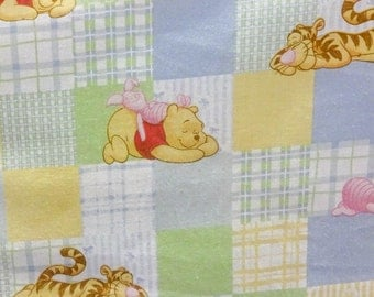Disney Winnie the Pooh Honey Days 100 Percent Cotton Fabric By The Full Yard 5502