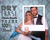Photobooth Frame - Dry Erase Photo Booth Prop. Photo Booth Frame, Photobooth Picture Frame, Picture Frame Props, Wedding Photo Booth, Photo.