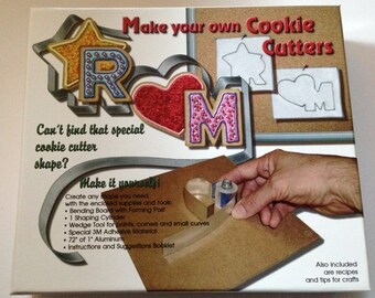 Make Your Own Cookie Cutter Kit with all necessary tools and instructions