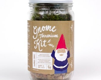 Moss Terrarium Kit // DIY // Gnome
