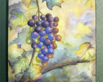 Grapes Tile Trivet