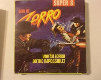 Son Of Zorro UA 201 Super 8 Film Rare