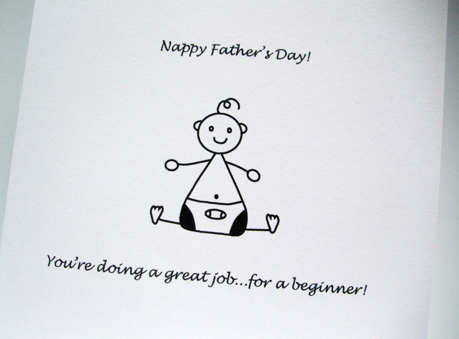 nappy father u0027s day funny father u0027s day card first