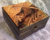 Essential Oil Decorative Storage Box- Refuge
