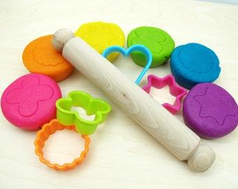 Neon Rainbow Pack - Handmade Child's Dough