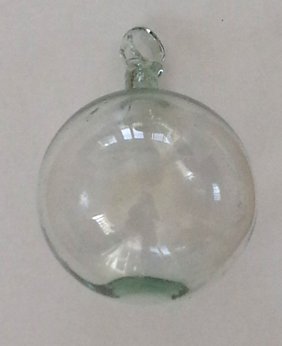 Christmas Ornaments Clear Glass : Glass christmas ornament blown ball clear light