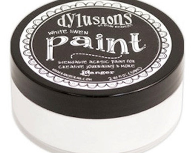 WHITE LINEN Dylusions Blendable Acrylic Paint by Dyan Reaveley