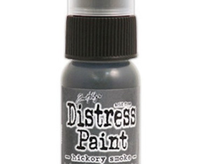 Tim Holtz Distress Paint Dabber - Hickory Smoke - June 2015